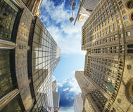 Majesty of New York City Skyscrapers Stock Photography