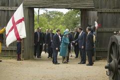 Majesty Queen Elizabeth II Royalty Free Stock Photo