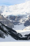 Majesty of rocky mountains, canada. Banff national park, winter in canada Royalty Free Stock Photo