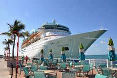 Majesty of the Seas in Key West Stock Photography