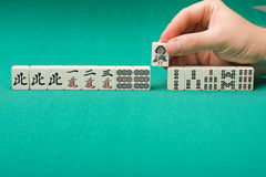 Majhong Stock Image