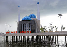 Majid Amirul Mukminin Mosque, Makassar, Sulewesi, Indonesia Royalty Free Stock Photos