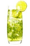 Majito com cal e gelo Imagem de Stock