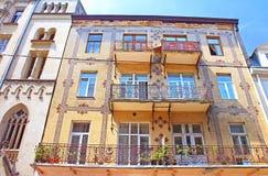 Majolica House, Lviv, Ukrainw Royalty Free Stock Photo