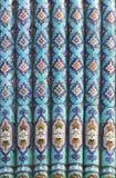 Majolica of Saint Petersburg Mosque in Russia Stock Image