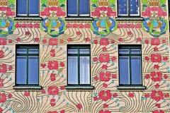 Majolikahaus, Wien Obrazy Royalty Free