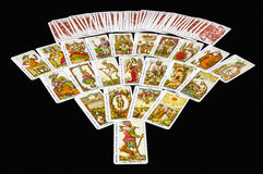 22 Major Arcana Tarot stock photography