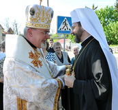 Major Archbishop Sviatoslav Shevchuk Foto de archivo