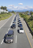 Major Canadian Traffic Jam Fotografia Stock Libera da Diritti