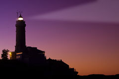 Major cape lighthouse (Spain) Royalty Free Stock Photo