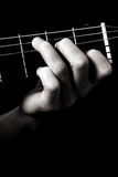 Major chord (C) Royalty Free Stock Photos