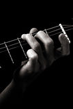 Major chord (G) stock photo
