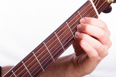 A major chord Stock Images
