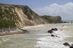 Major coastal landslide, Dorset,UK Stock Images