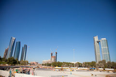 Major construction Abu Dhabi Stock Photography