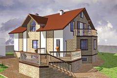 Major Cottage Royalty Free Stock Image