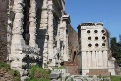 Major Door in Rome Royalty Free Stock Photos