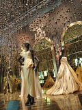 Major exhibition entitled 'Esprit Dior' in Shanghai Royalty Free Stock Image