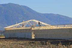 Major Farm Building Construction Stock Images