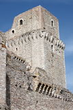 Major Fortress in Assisi stock photo