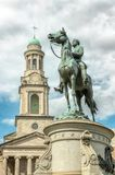 Major General George Henry Thomas, is an equestrian sculpture in Washington, D.C. royalty free stock photos