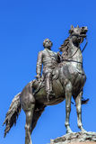 Major General George Henry Thomas Civil War Statue Washington DC. Major General George Henry Thomas Memorial Civil War Statue Thonmas Circle Washington DC Royalty Free Stock Image