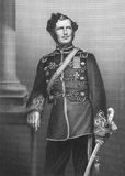 Major-General sir Christopher Charles Teesdale Fotografia Stock