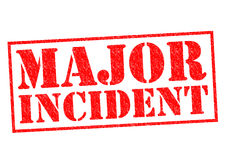 MAJOR INCIDENT Royalty Free Stock Photography