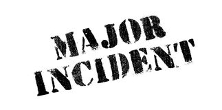 Major Incident rubber stamp Royalty Free Stock Photography