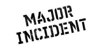 Major Incident rubber stamp Royalty Free Stock Photo
