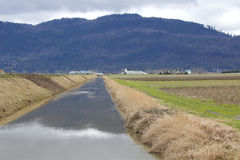 Major Irrigation Canal Royaltyfri Foto
