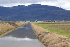 Major Irrigation Canal Royalty-vrije Stock Foto