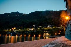 The MAjor lake. In Italy royalty free stock photos