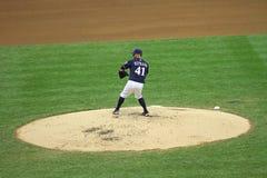 Major League Baseball Action Royalty Free Stock Image
