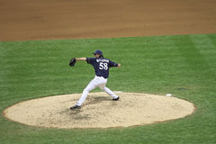 Major League Baseball Action Stock Photo