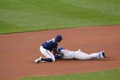 Major League Baseball Action Imagens de Stock