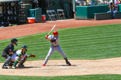 Major League Baseball - All Star Beltran Hitting Stock Images