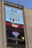 Major League Baseball All Star Game. Sign outside the Phoenix Convention Center Royalty Free Stock Image