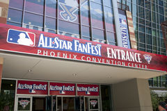 Major League Baseball All Star Game FanFest Stock Photography