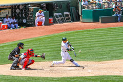 Major League Baseball - balanço de Homerun Imagens de Stock