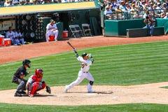 Major League Baseball - Donaldson Homerun Swing Royalty Free Stock Photography