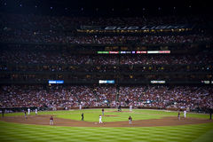 Major league baseball game Stock Photos