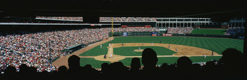 Major league baseball game  at The Bal Stock Photography