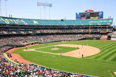 Major League Baseball - härlig dag för baseball Royaltyfria Foton