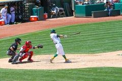 Major League Baseball - Josh Reddick Swings Stock Photo