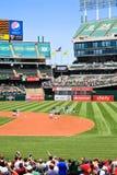 Major League Baseball National Anthem Stock Images