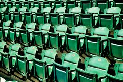 Major League Baseball Stadium Seating Royalty Free Stock Image