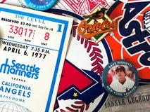 Major League Baseball Stickers imagen de archivo