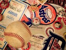 Major League Baseball Stickers foto de archivo libre de regalías