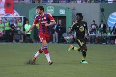 Major League piłki nożnej gwiazdy Bayern Munchen i FC Fotografia Stock